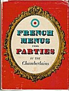 French menus for parties by Narcisse…