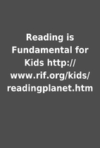Reading is Fundamental for Kids…