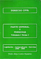 Derecho civil: Parte general y personas Tomo…