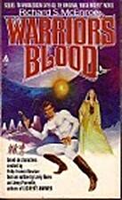 Warriors Blood by Richard McEnroe