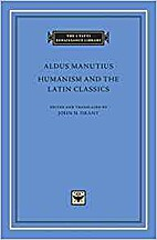 Humanism and the Latin Classics by Aldus…