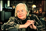 Author photo. Hella Haasse 2008 - Photo uncredited