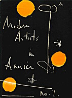 Modern Artists in America - first series by…