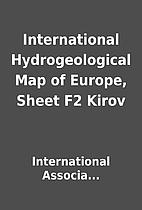 International Hydrogeological Map of Europe,…