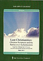 Lost Christianities: Christian Scriptures…