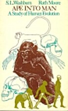 Ape into Man: A Study of Human Evolution by…