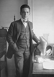Author photo. George Grantham Bain Collection, <br>LoC Prints and Photographs Division <br>(LC-DIG-ggbain-29679)