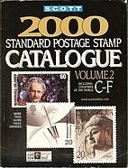 Scott 2000 Standard Postage Stamp Catalogue:…