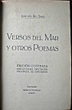 Versos del mar y otros poemas by José del…
