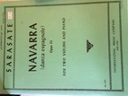 Navarra (dansa espagnole) Op.33, For Two…
