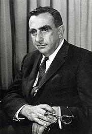 Author photo. Teller in 1958