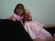 Author photo. Taken by Karen Pielke Santos, Julia Santos and Granddad Robert Pielke, June 2007