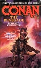 Conan the Renegade by Leonard Carpenter