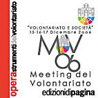 Volontariato e società : meeting del…