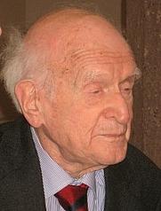 Author photo. Hans Keilson, 2007. Credit: Florian Oertel