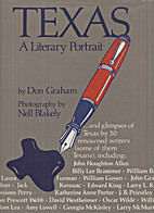 Texas: A Literary Portrait by Don Graham
