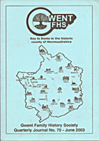 Gwent FHS, journal 70