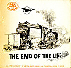 The End of the Line by M.A. Mingay