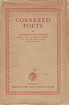 Cornered Poets by Laurence Housman