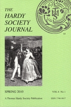 The Hardy Society Journal, Vol. 6, No. 1,…