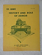 U.S. Army History and Role of Armor by US…