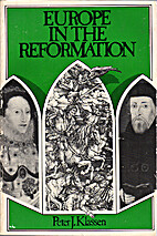Europe in the Reformation by Peter J.…