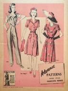 Advance Patterns Fashion News, 1942 June by…