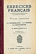 Exercices français à l'usage de…