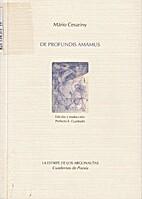 De profundis amamus by Mário Cesariny