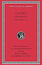 Orations : Philippics : 7-14 by Cicero