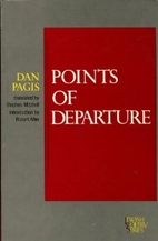 Points of Departure (Jewish Poetry Series)…