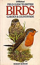 Field Guide to British Birds: Garden &…