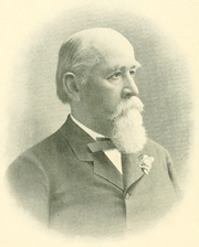 Author photo. Charles Eugene Flandrau [source: The History of Minnesota and Tales of the Frontier, 1900]