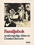 Familjebok : småborgerliga dikter,…