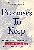 Promises to keep : a call for a new American…