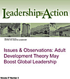 Issues & Observation: Adult Development…