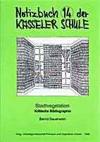 Notizbuch der Kasseler Schule - Bd. 14 :…