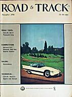 Road & Track 1956-11 (November 1956) Vol. 8…