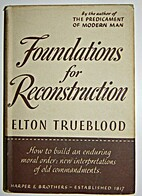 Foundations for reconstruction by Elton…