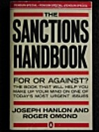 The sanctions handbook by Joseph Hanlon