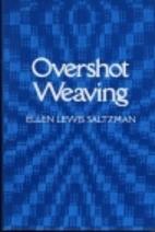 Overshot weaving by Ellen Lewis Saltzman