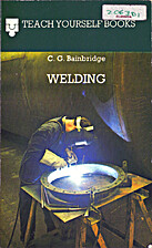 Welding (Teach Yourself) by Cecil George…