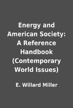 Energy and American Society: A Reference…