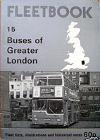 Buses of Greater London by R L Telfer