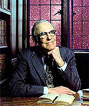 Author photo. Lyman Spitzer, the 'father' of the Hubble Space Telescope (NASA photograph)