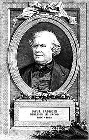 Author photo. Octave Uzanne, Le Livre, Paris, A. Quantin, 1884.