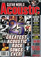 Guitar world acoustic no. 23, 1997 by the…