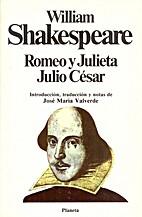 2 Plays: Julius Caesar; Romeo and Juliet by…