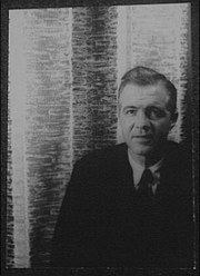 Author photo. Andrew Turnbull, 1962. Photo by Carl Van Vechten. (Library of Congress Prints and Photographs Division)