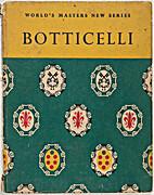 Sandro Botticelli by Anthony Bertram